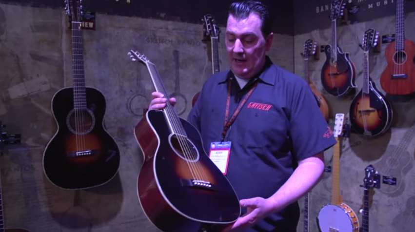 guitar world explores the new roots collection acoustics at namm 2017 gretsch guitars blog. Black Bedroom Furniture Sets. Home Design Ideas