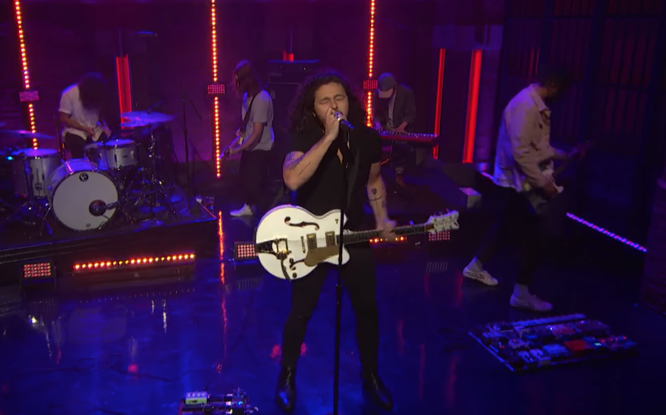 Gang of Youths Make U.S. Television Debut on Late Night with Seth Meyers
