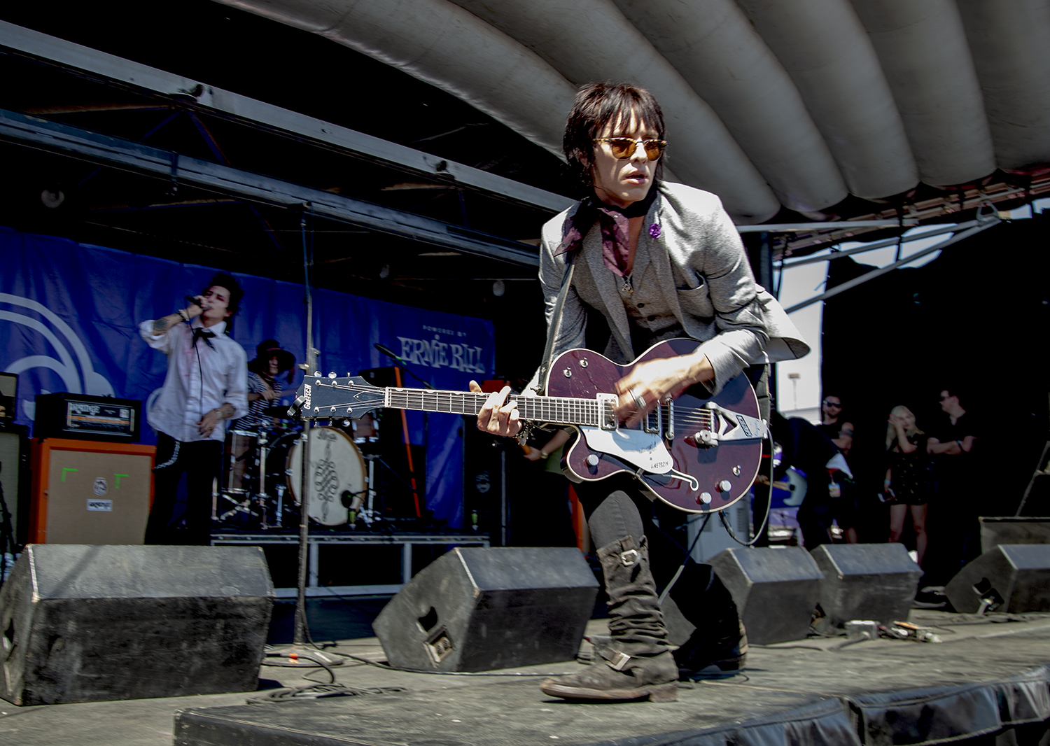 Gretsch Has Gone Around the World with Palaye Royale's Sebastian Danzig