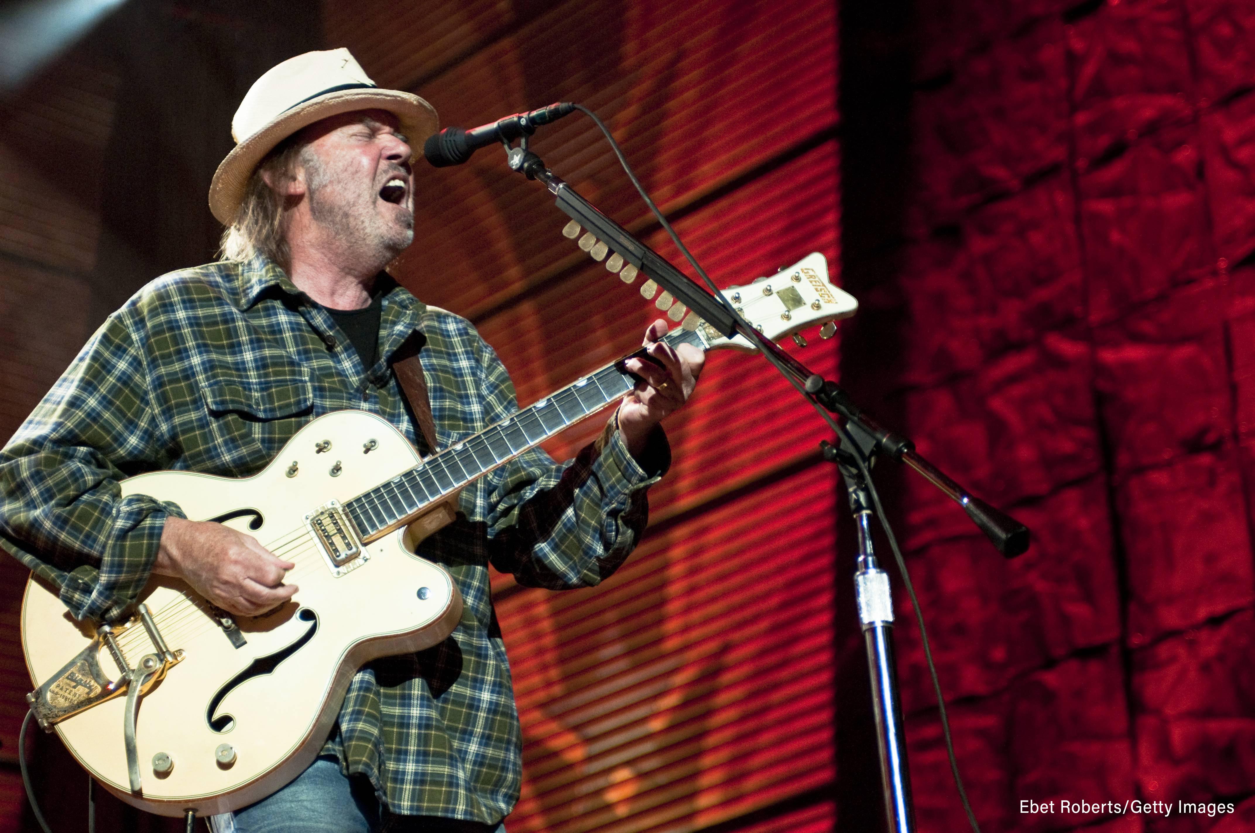 Neil Young Talks Recording 'Colorado' With Conan