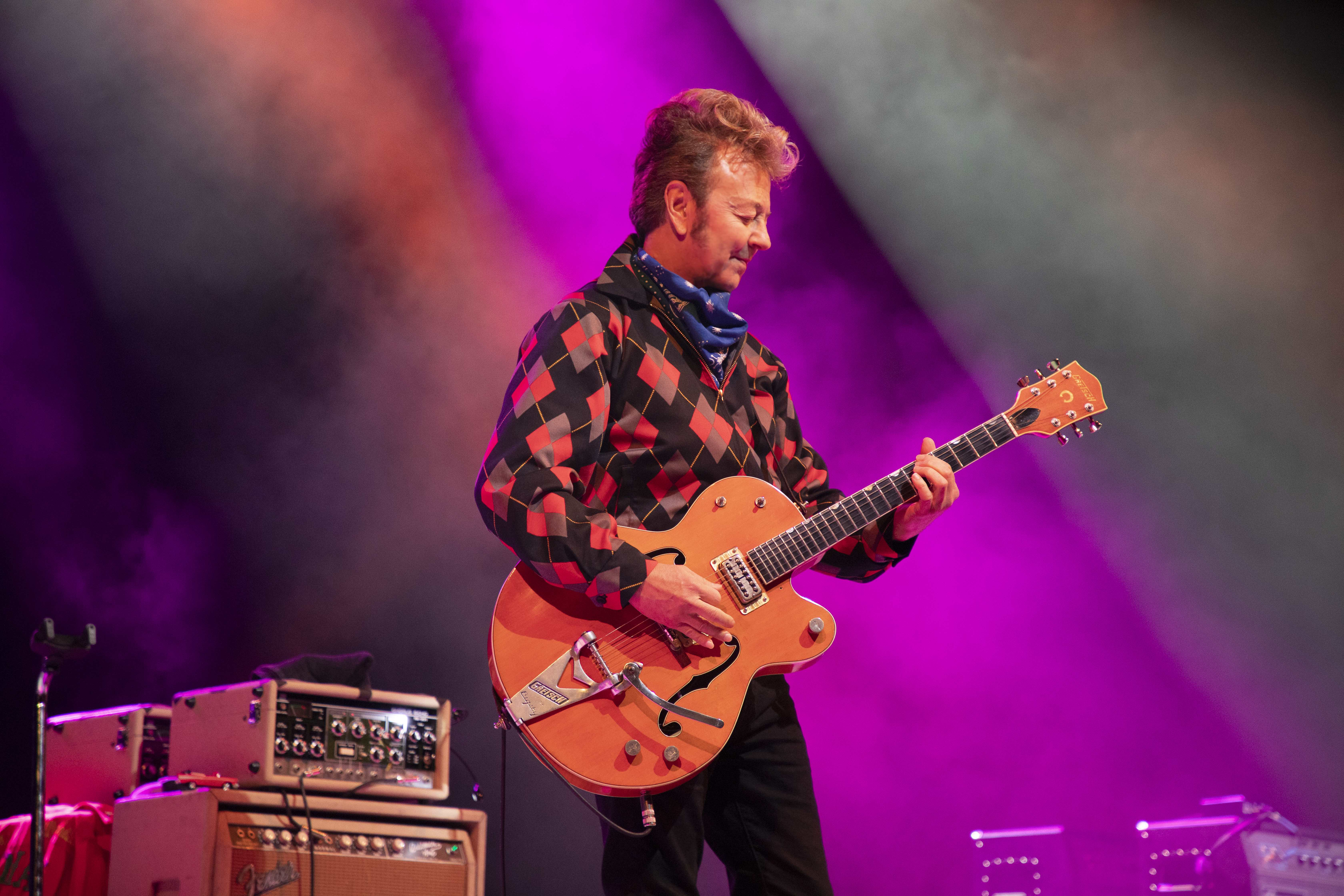 Tom 'TV' Jones and Guitar Tech Tyler Sweet Share Their Insight on Brian Setzer's 'Smoke'