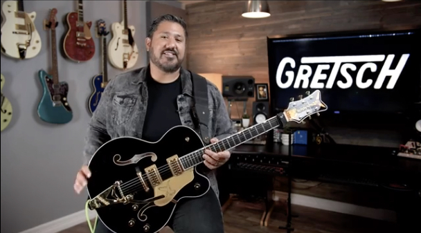Guitarist Chris Rocha Shows Off the Tone of His Gretsch Falcon in New '#ToneTuesday'
